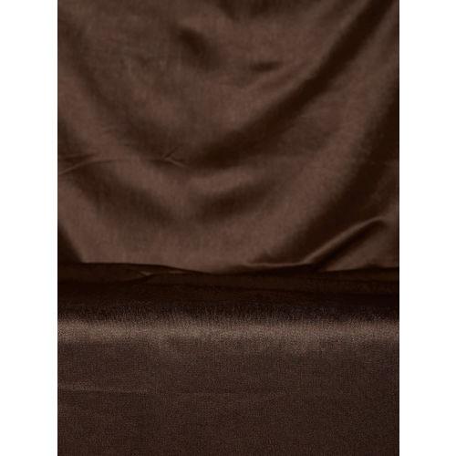 Cortina Coffee Brown Single Window Curtain