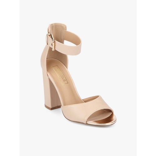 Truffle Collection Skin Color Sandals