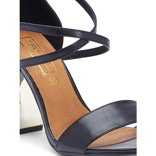 Truffle Collection Women Black Heels