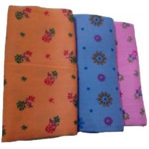 Cotton Colors Cotton 2400 GSM Bath Towel Set(Pack of 3, Multicolor)