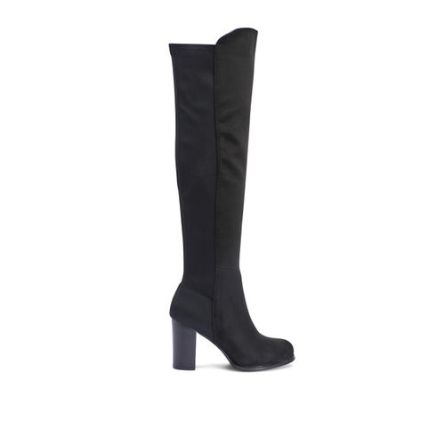 Truffle Collection Women Black Heeled Boots