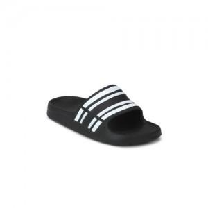 2e09f35e7 Truffle Collection Women Black Solid Synthetic Open Toe Flats