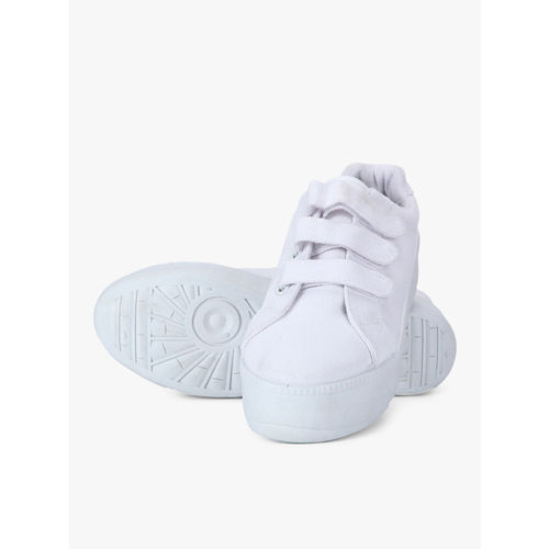 Truffle Collection White Casual Sneakers