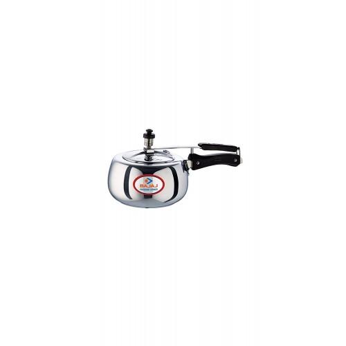 Bajaj PCX 65D Aluminium Handi Duo Pressure Cooker with Inner Lid, 5L
