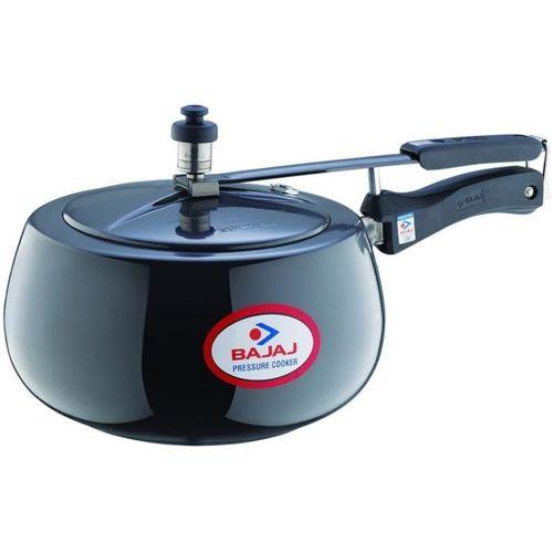 Bajaj Handi Anodized Induction Base PCX 63HD 3 L Induction Bottom Pressure Cooker(Hard Anodized)