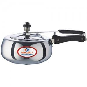 Bajaj 3 L Induction Bottom Pressure Cooker(Aluminium)