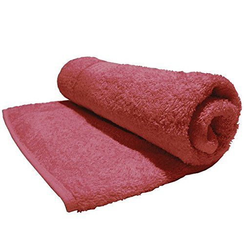 Bombay Dyeing Tulip Plain Dyed Cotton Hand Towel, 450 GSM - Burgundy