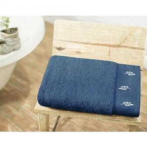 Swiss Republic Rivera 600 GSM Cotton Bath Towel - Blue