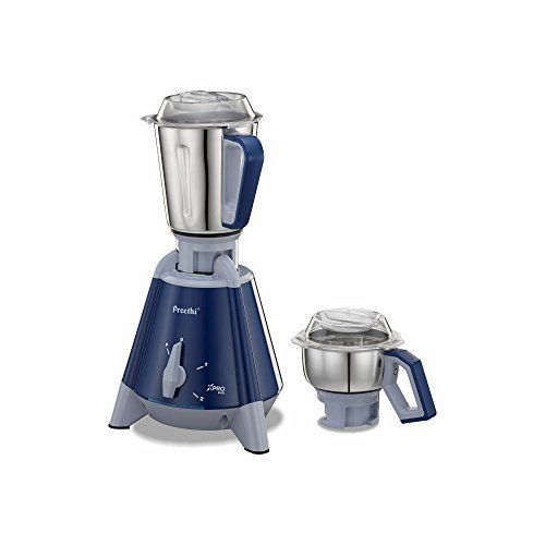 Preethi Xpro Duo MG 198 1300-Watt Mixer Grinder (Deep Blue)