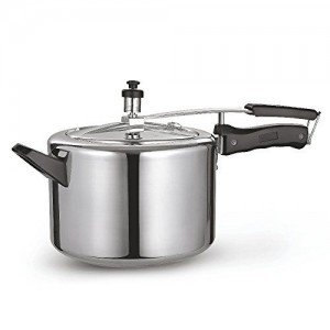Sunflame Induction Base Inner Lid Aluminium Pressure Cooker, 5 Litres/425ml, Silver