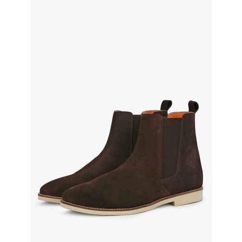 Buy Griffin Suede Leather Chelsea Boots