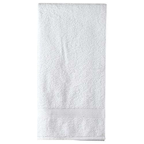 Trident Home Essentials Solid 400 GSM Cotton Bath Towel - Snow Flake