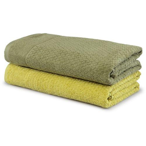 Trident Cotton 500 GSM Bath Towel(Green)