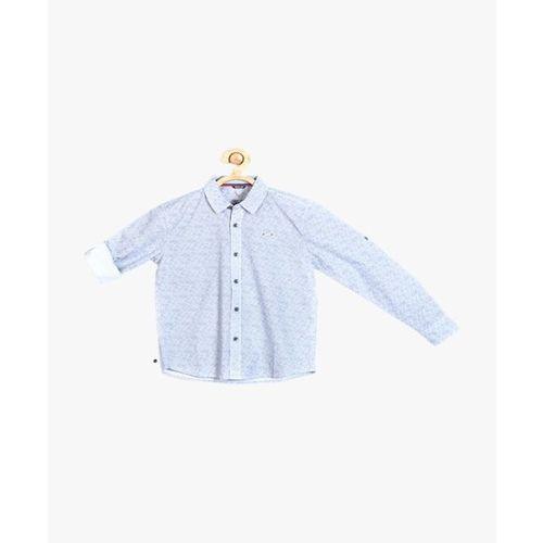 b0d672494b Buy Solly By Allen Solly Kids Blue Printed Shirt online | Looksgud.in