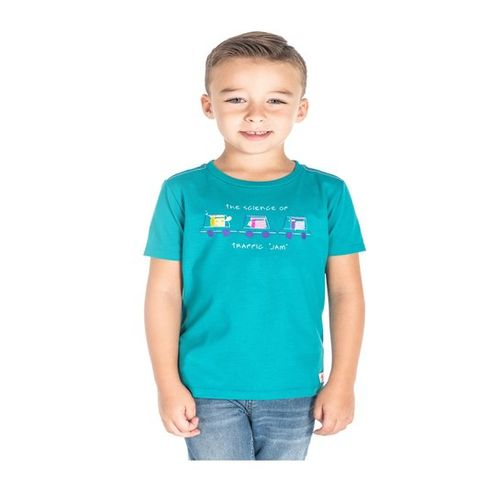 60451d447 Buy Cherry Crumble California Kids Teal Printed T-Shirt online ...