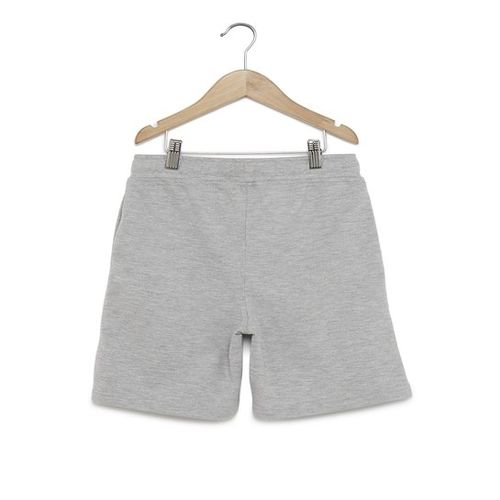 Y&F Kids by Westside Grey Text Print Shorts