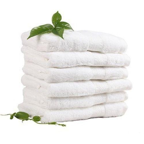 Freshfromloom Cotton GSM Hand Towel(Pack of 6, White)