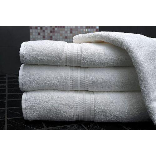 Freshfromloom Cotton 2000 GSM Bath Towel Set(Pack of 4, White)