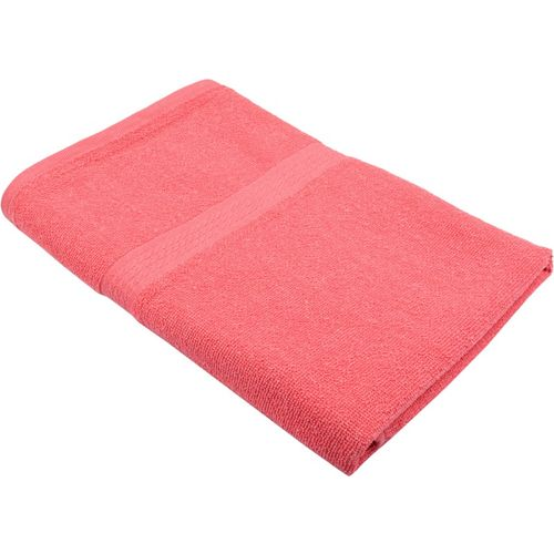 Freshfromloom Cotton 450 GSM Bath Towel(Pink)