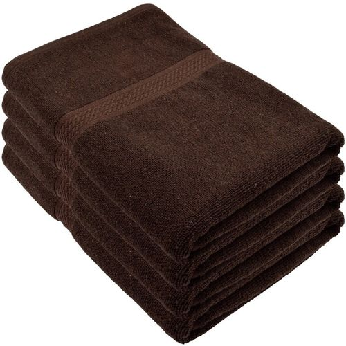Freshfromloom Cotton 500 GSM Bath Towel Set(Pack of 4, Brown)