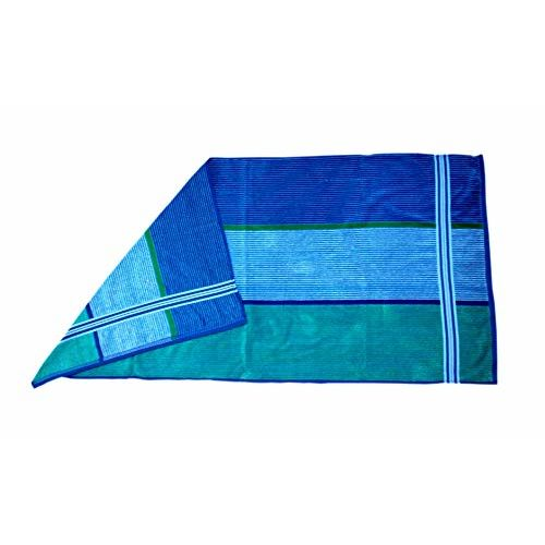 Space Fly Multi Striped, Attractive 2 Big Size Bath Towels, Soft and Cotton, Light Weight (Size: 28 X 58 Inch_Multi)