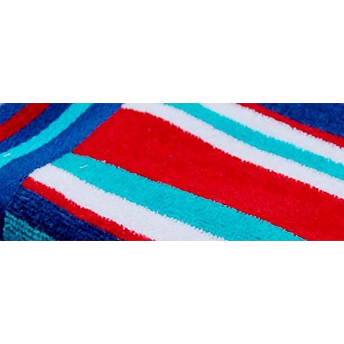 Space Fly Fine Soft & Cotton Attractive, Light Weight, Big Size Bath Towels (28 X 58_Blue_1 Piece)