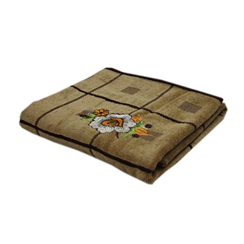 Space Fly Love Touch Attractive Embroidery, Good Look Cotton & Soft 1 Bath Towels (Size : 28 X 58 Inch)