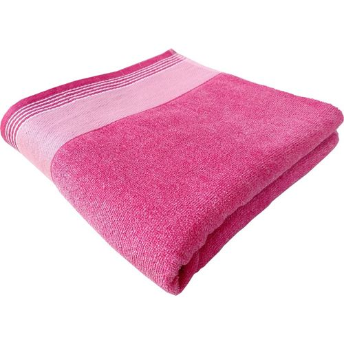 Space Fly Cotton 400 GSM Bath Towel(Pink)