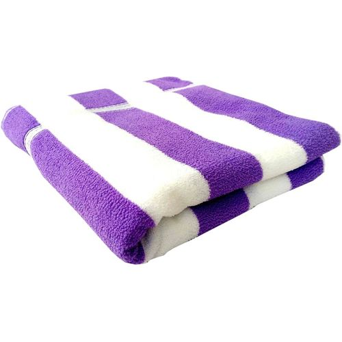 Space Fly Cotton Terry 400 GSM Bath Towel(Purple)