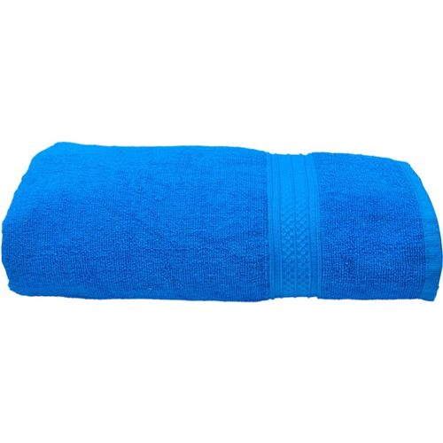 Space Fly Cotton 450 GSM Bath Towel(Blue)