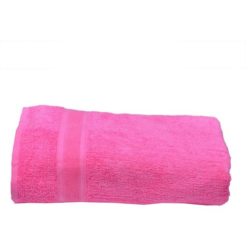 Space Fly Cotton 450 GSM Bath Towel(Pink)