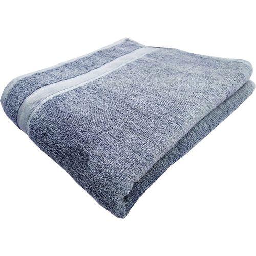 Space Fly Cotton 450 GSM Bath Towel(Grey)