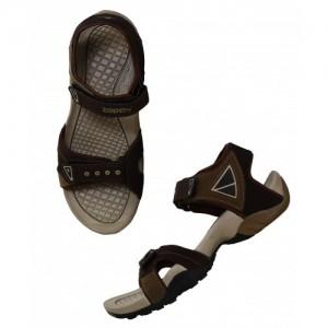9080e1388326 Buy Nexa Brown and Beige Floater Sandals online