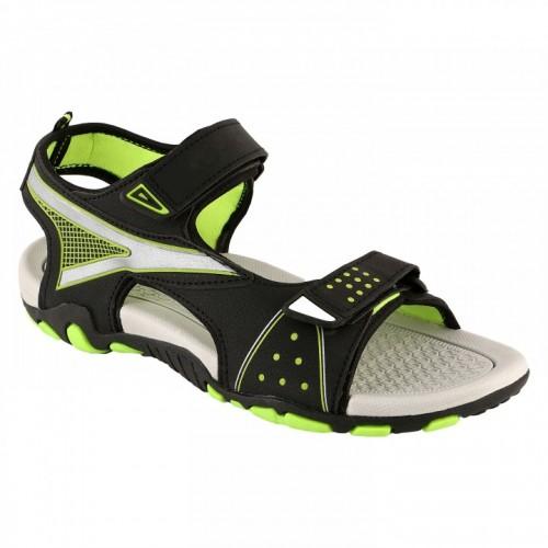 Clymb Men's Blue Velcro Sandals