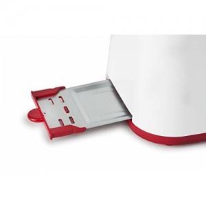 Koryo 750W Pop-up Toaster, Red
