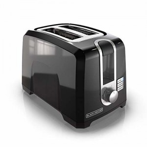 BLACK+DECKER Black & Decker T2569B 2 Slice Toaster, Black