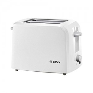 Bosch TAT3A011 980 W Pop Up Toaster (White)