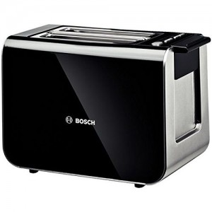 Bosch TAT8613GB Styline 2 Slice Toaster (Black)