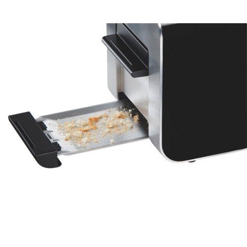 Bosch TAT8613GB Styline 2 Slice Toaster (Black)