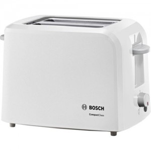 Bosch TAT3A011 980 W Pop Up Toaster(White)