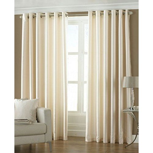 Fresh From Loom Curtains for Long Door 1pc Polyster Plain Curtains - 9ft