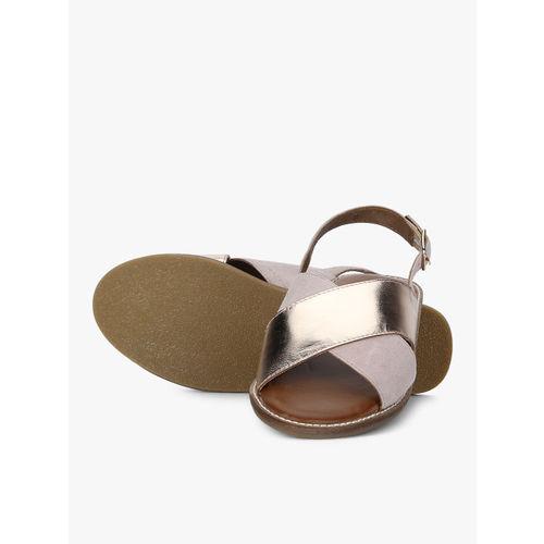 Steve Madden Rose Gold Sandals