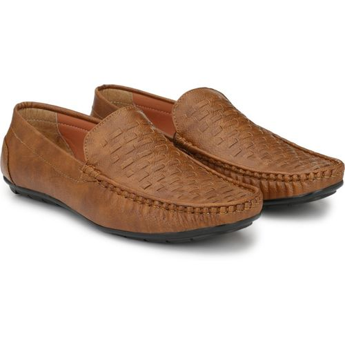 LAWMAN PG3 fitze Loafers For Men(Brown)