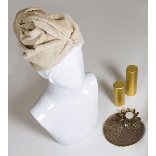 Spaces Turbie Cotton Bath Accessory - Cream