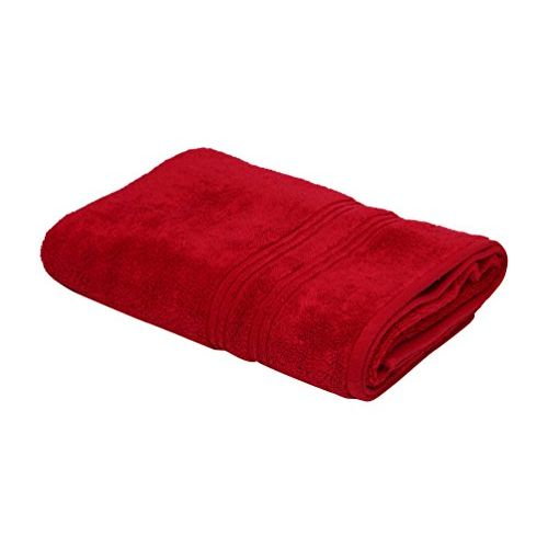 Spaces Swift Dry 450 GSM Cotton Bath Towel - Red