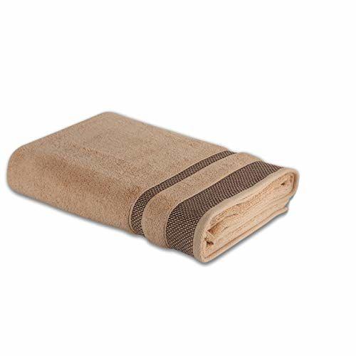 Spaces Hygro 600 GSM Cotton Bath Towel - Cream