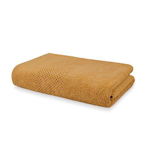 Spaces Swift Dry 450 GSM Cotton Bath Towel - Golden