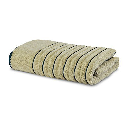 Spaces Occasions Solid 575 GSM Cotton Bath Towel - Desert and Teal