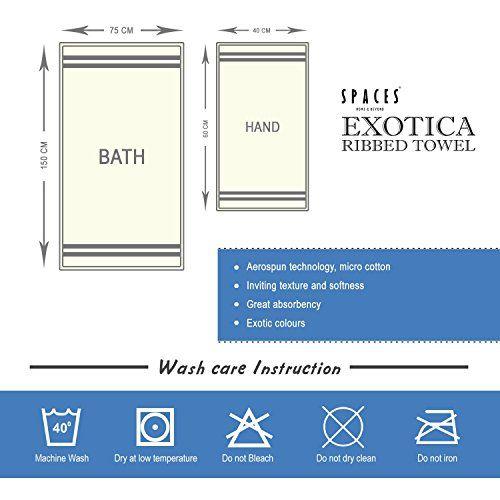 Spaces Exotica 575 GSM Cotton Bath Towel - Violet