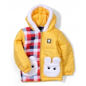 Babyhug Full Sleeves Hooded Jacket